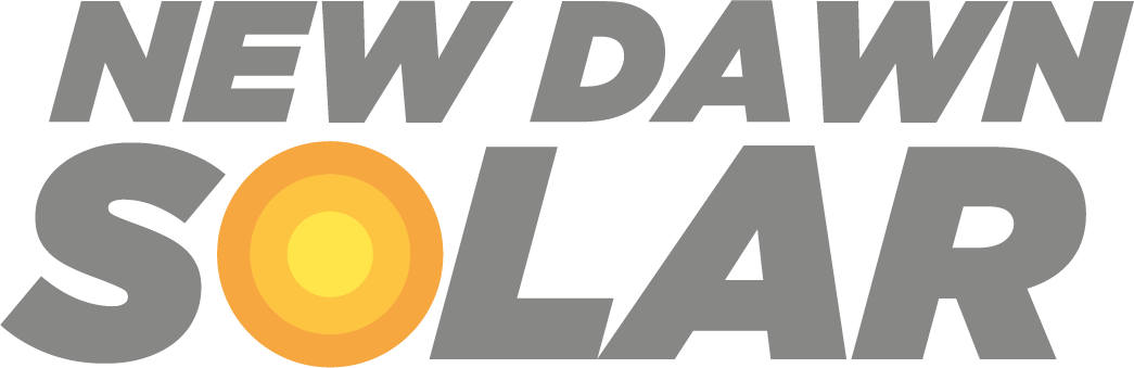 New dawn solar logo